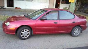 1995 Dodge Neon Sedan