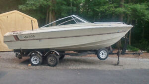 Trailer 20ft. and Larson Boat