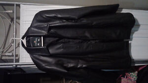 FREE Woman's faux leather coat size large