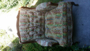 Vintage Victorian arm chair , very comfortable