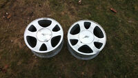 Ford Mustang aluminum rims wheels 15x7, 5x114.3mm