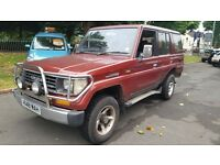 1991 H REG TOYOTA LAND CRUISER 4X4 AUTOMATIC