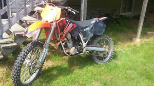 ktm sx400 and rm 85 for trade