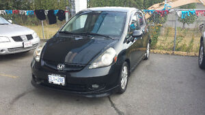 2007 Honda Fit Sport Hatchback