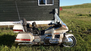 Gold wing must sell.