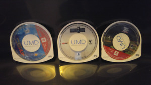 Selling 3 loose PSP Games