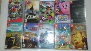 Brand New Nintendo Switch Games from $35 to $70