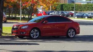 2013 Chevrolet Cruze LT RS Berline (transfert de bail 19 mois)