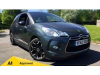 2012 Citroen DS3 1.6 THP 16V 155 DSport 3dr Manual Petrol Hatchback