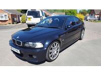 2003 BMW M3 3.2 Long MOT Excellent Condition Carbon Black Bargain