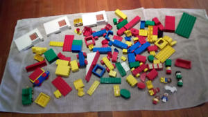 Lego Duplo bulk lot 180 pieces people vehicles blocks and more