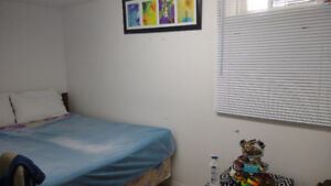 Close to St. Clair College basement room for rent