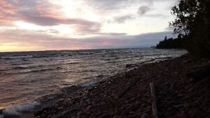 Lake Superior water front lot for sale