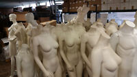BUY 1 HEADLESS MANNEQUIN FOR $130 GET 1 FREE!!!!! FIBERGLASS