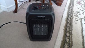 Portable Electric Likewise Ceramic Heater with Thermostat