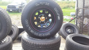 14, 15, and 16 inch tires for sale used some newer ones.