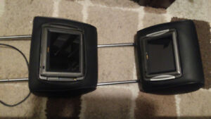 HEADREST LCD DVD MONITORS FROM MERCEDES BENZ ML