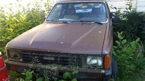 1983 Toyota Xtra Cab Pickup Truck