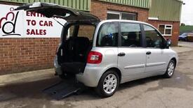 2007 Fiat Multipla Up Front Disabled Wheelchair Passenger Vehicle Accessible Car