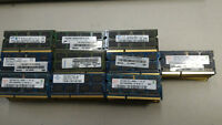 SPECIAL 11.50$ RAM MÉMOIRE DDR3 8500/1066 LAPTOP PC/MAC/MACBOOK