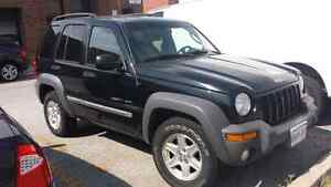 2002 jeep liberty 4x4 for sale