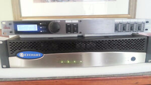 Crown Audio multi channel amps and DBX ZonePro 640m controller