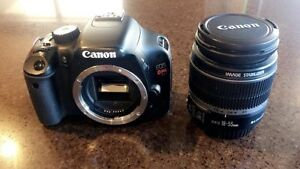 Canon t2i DSLR with 18-55mm lens