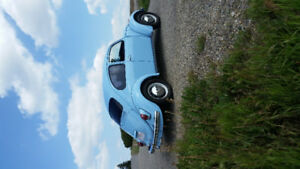 1968 Beetle Robin Egg Blue Clean Original
