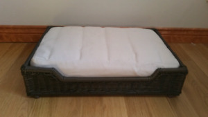 Resin Wicker Pet Bed - High Quality & Excellent Condition