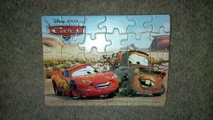 Lightning McQueen & Mater Puzzles