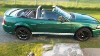 2000 Mustang Convertible mint condition