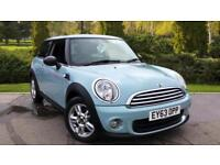 2013 Mini One 1.6 One 3dr Manual Petrol Hatchback