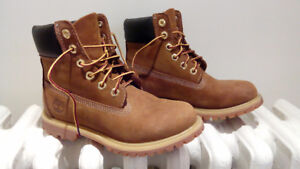 "Timberland Women's ICON 6"" PREMIUM rust work boots"