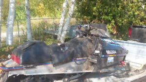 1992 polaris sks chassi for sale