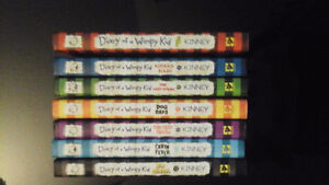 Child teen Novel- Diary of a Wimpy Kid Vol. 1, 2, 3, 4, 5, 6, 10