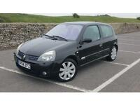 2004 Renault Clio 2.0 182bhp Renaultsport 3 doors petrol manual in black