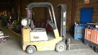 Yale Forklift, Propane, 8862Hrs ONLINE, Excell Auctions