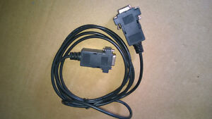1.5 M Female to Female SERIAL DB9 9 PIN RS 232 Data CABLE