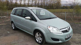 Vauxhall/Opel Zafira 1.6 16v ( 105ps ) 2008.5MY Exclusiv