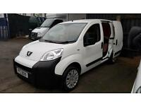 November 2013 Peugeot Bipper 1.3HDi 75 Professional,Only 32000 Miles,Cars,