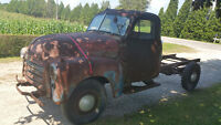 1951 GMC 1 ton rolling frame