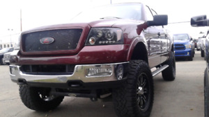2004 Ford F-150 Super Crew FX4 Fully Loaded Lifted Rims Tires