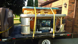 hot tub moving & disposal call the trained professionals