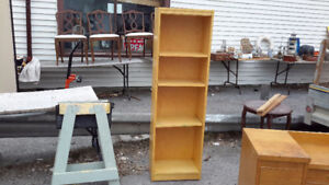 NARROW BOOK SHELF ONLY $38.00 DROP IN 277 MONTREAL ST