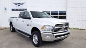 2013 RAM 2500 CREW CAB SLT LONG BOX 4X4 WITH ONLY 138K!