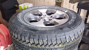 5 Never Used Brand New Tires and Rims