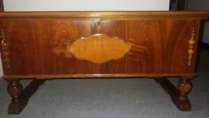 Rare Antique Cedar Chest (1927)