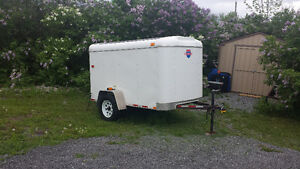 2014 5x9 enclosed trailer