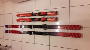 Skis K2 5500 8.1 180 cm, with Geze G-68 bindings West Island Greater Montréal image 1