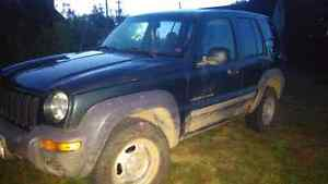 2002 Jeep Liberty Sport 4x4 for sale